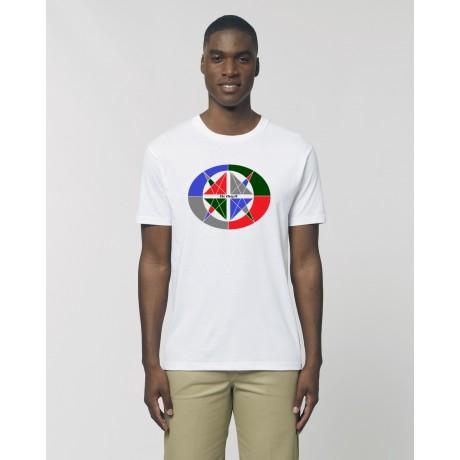 """Camiseta Hombre """"4 vientos"""" amarillo"""