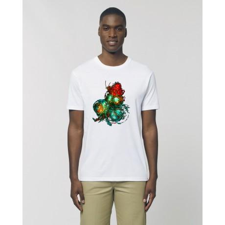 "Camiseta Hombre ""A.D.N"" Blanca"