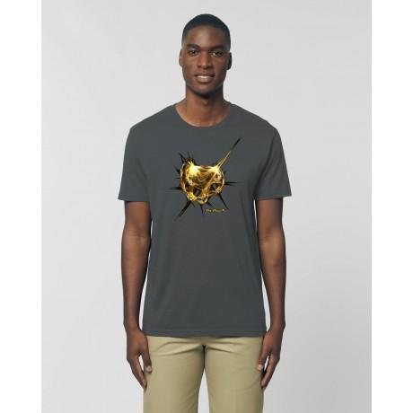 """Camiseta Hombre """"Absolut"""" antracita"""