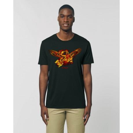 "Camiseta Hombre ""Apolo"" negra"