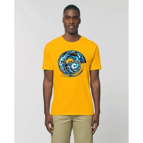 "Camiseta Hombre ""Augustos"" amarillo spectral"