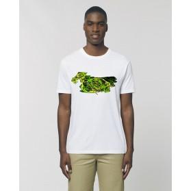 """Camiseta Hombre """"Ave"""" Blanca"""