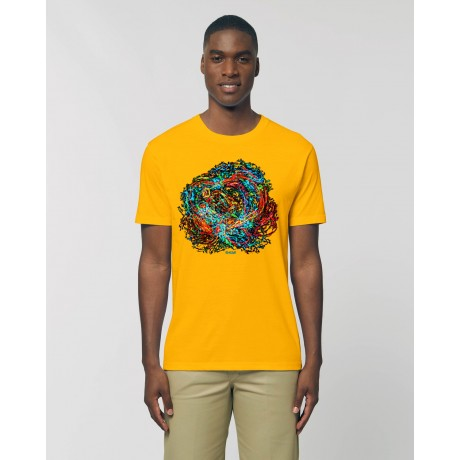 "Camiseta Hombre ""Babel"" amarillo spectra"