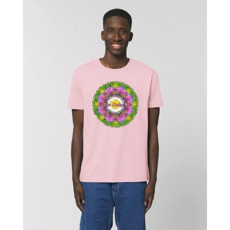 """Camiseta Hombre """" Primavera"""" Rosa"""