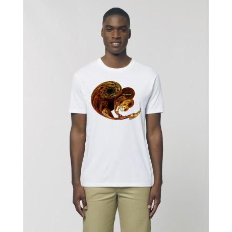 """Camiseta Hombre """"Ciclo"""" Blanca"""