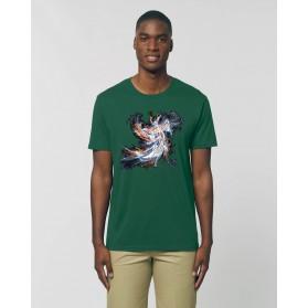 "Camiseta Hombre ""Elva"" verde botella"