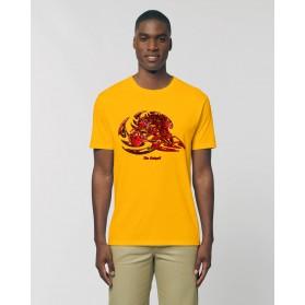 """Camiseta Hombre """"Esencia de sangre"""" amarillo spectra"""