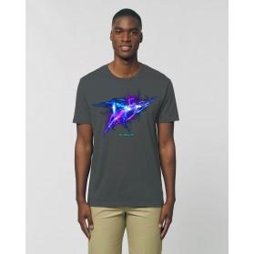 """Camiseta Hombre """"Frequency"""" antracita"""