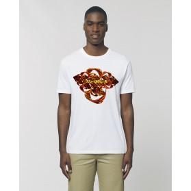 "Camiseta Hombre ""Fusión"" Blanca"