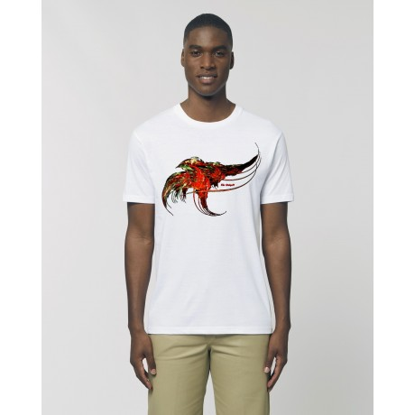 "Camiseta Hombre ""Golondrina"" blanca"