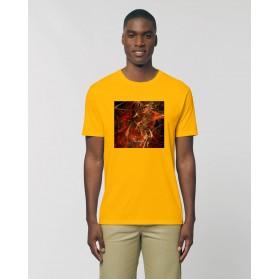 """Camiseta Hombre """"Infernus"""" amarillo spectral"""
