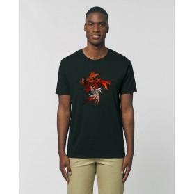 """Camiseta Hombre """"Caronte"""" negra"""