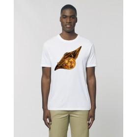 """Camiseta Hombre """"La luz del alba"""" Blanca"""