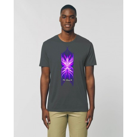 "Camiseta Hombre ""Némesis"" antracita"