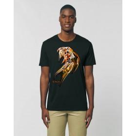 """Camiseta Hombre """"Pléyades"""" negra"""