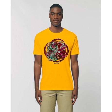 "Camiseta Hombre ""Purgatorio"" amarillo spectra"