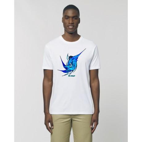 "Camiseta Hombre ""Agua"" Blanca"