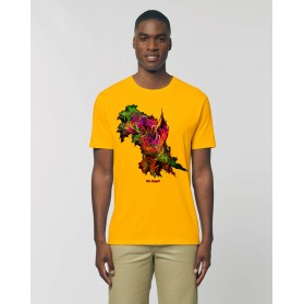 "Camiseta Hombre ""La Mana"" amarillo spectra"