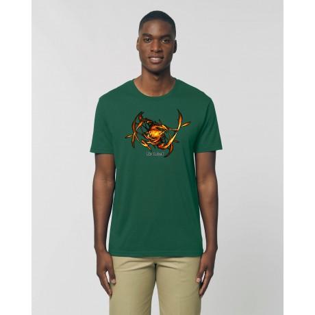 "Camiseta Hombre The Origen ""Chi"" verde botella"