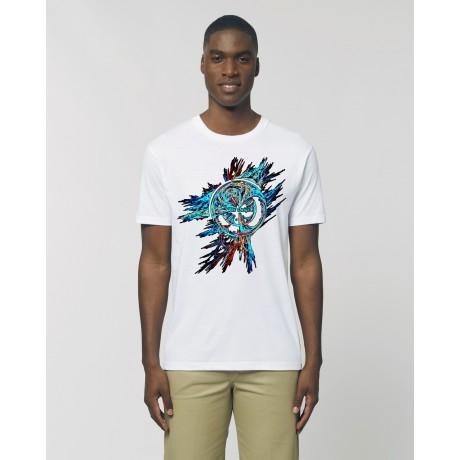 """Camiseta Hombre """"La Saeta"""" blanca"""