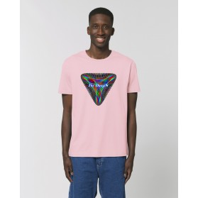 """Camiseta Hombre """"Conjunción"""" rosa"""