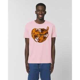 "Camiseta ""Doblón"" rosa"