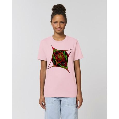 "Camiseta Mujer ""Atomic"" rosa"