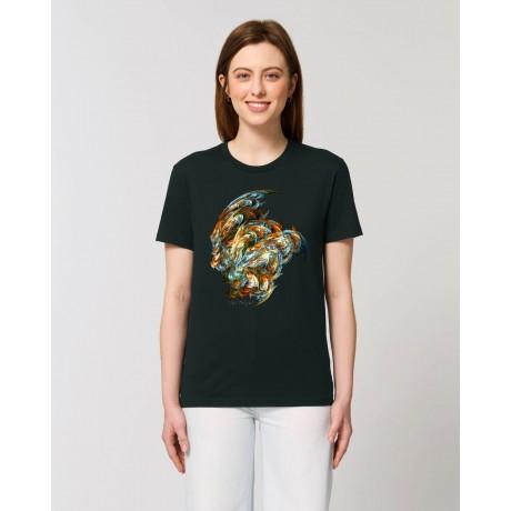 "Camiseta Mujer ""Centauri"" negra"