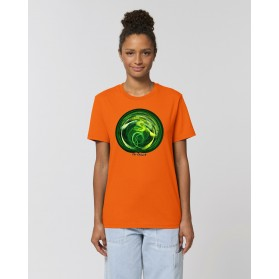 "Camiseta Mujer ""Clorofila"" naranja"