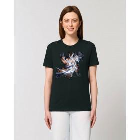 """Camiseta Mujer """"Elva"""" negra"""