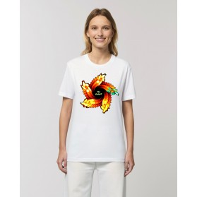 "Camiseta Mujer ""Espiral"" blanca"