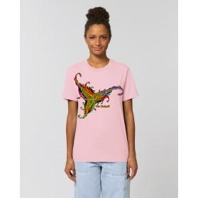 """Camiseta Mujer """"Estrella de Poniente"""" rosa"""