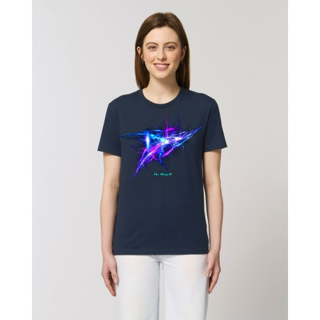"Camiseta Mujer ""Frequency"" navy"