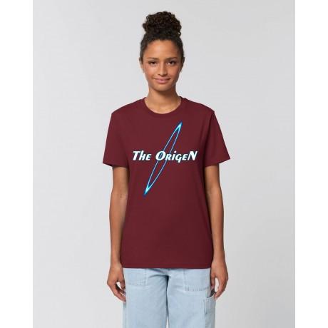 """Camiseta Mujer """"Futur"""" burdeos"""