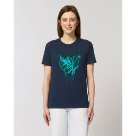 """Camiseta Mujer """"Latir"""" navy"""