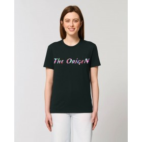 """Camiseta Mujer """"Lineas"""" negra"""