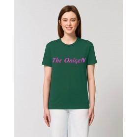 """Camiseta Mujer """"Love"""" verde botella"""