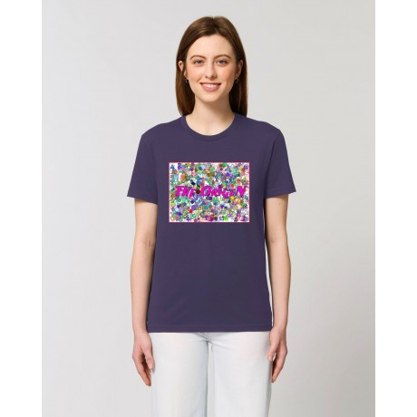 "Camiseta Mujer ""Nena"" morada"