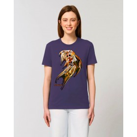 "Camiseta Mujer ""Pléyades"" morada"
