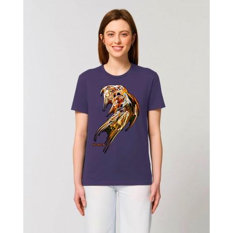 """Camiseta Mujer """"Pléyades"""" morada"""