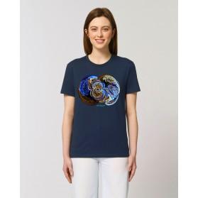 "Camiseta Mujer ""Signos"" navy"