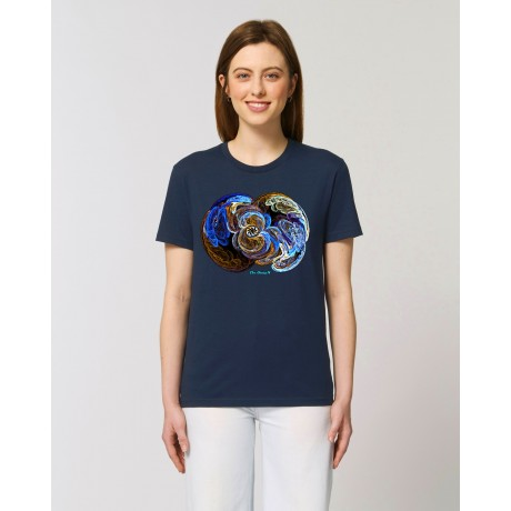 "Camiseta Mujer ""Signos"" navy"