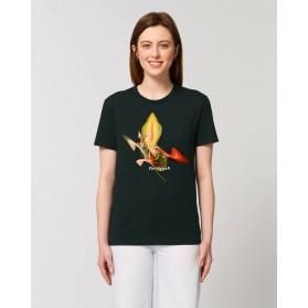 "Camisetas The Origen Mujer ""Venus"" negra"
