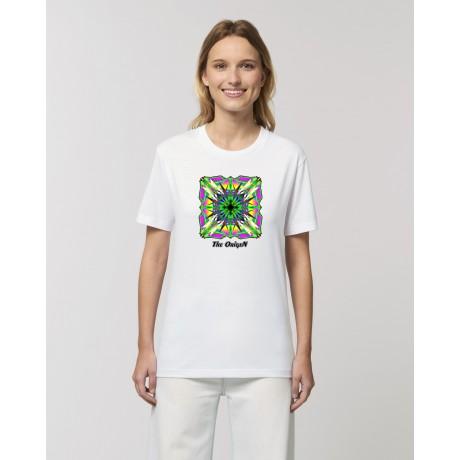 "Camiseta Mujer ""Étnica"" blanca"