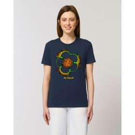"Camiseta Mujer ""Primula"" navy"
