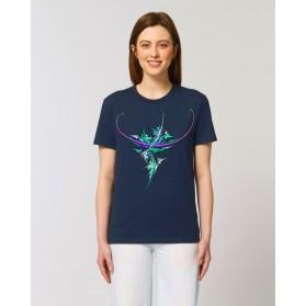 Camiseta Mujer Nenufar navy