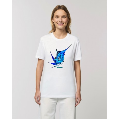 "Camiseta mujer ""Agua"" blanca"