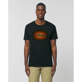 """Camiseta hombre """"Núcleo"""" negra"""