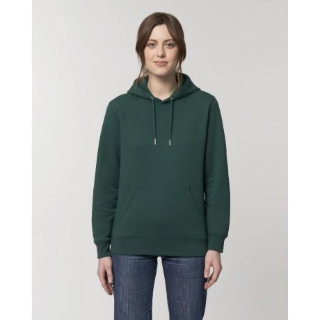 Sudadera chica verde glaseado para personalización