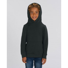 Sudadera niño negra para personalización